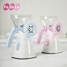 Fasola手动绞肉机 家用香肠机不锈钢搅肉机手摇绞菜碎肉机JJ-061
