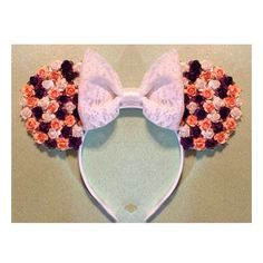 Floral Minnie Mouse Inspired Ears for #disneyland
