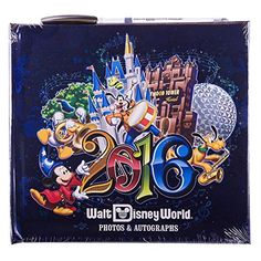 Walt Disney World Parks 2016 Photo Autograph Book with Pen NEW Music Magic Memories by Disney >>> Click for Special Deals  #DisneyAutographBooks