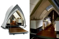 So in love with this camper.  Inspired by the Sydney opera house.