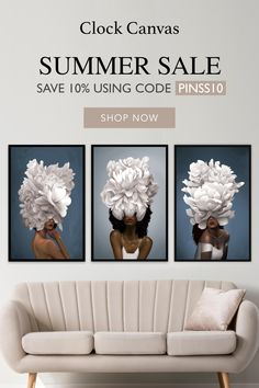 Don't miss our Summer Sale! All items up to 50% off 🔥🔥🔥  Use code: PINSS10 for an additional 15% off your purchase!  Shop now -> www.clockcanvas.com Paint Colors For Home, House Colors, Black And White Quilts, Black White, Plug In Chandelier, Jelly Roll Patterns, Modern Shabby Chic, Summer Sale, Decoration