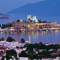 This worldwide famous port city located in the southwestern Aegean Region of Turkey.