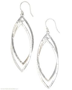 #Twinkling, #twirling #elegance multiplied by two. #Sterling #Silver. #Silpada #Earrings #Jewelry
