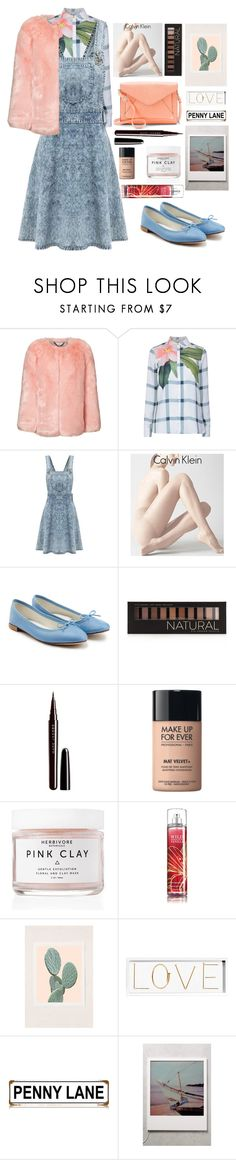 """Untitled #1568"" by anarita11 ❤ liked on Polyvore featuring Ted Baker, Calvin Klein, Repetto, Forever 21, Marc Jacobs, MAKE UP FOR EVER, Herbivore, Urban Outfitters, Oliver Gal Artist Co. and Apt. 9"