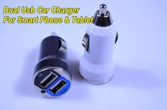 3.1A car charger Micro Dual USB port Car Charger Adapter for iphone 4 4g 4s ipad 1 2 3 ipod