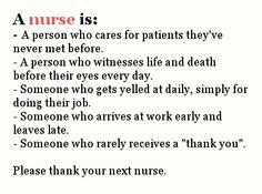 Thank a nurse