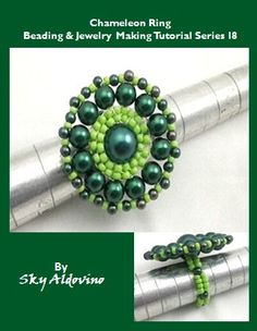 The Chameleon Ring Jewelry Making Tutorial l8 by XQdesigns on Etsy, $3.80