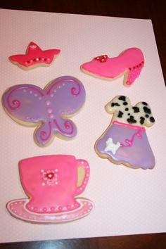 Fancy Nancy Cookies