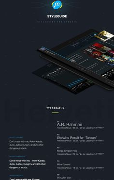GP Music Redesign Concept on Behance
