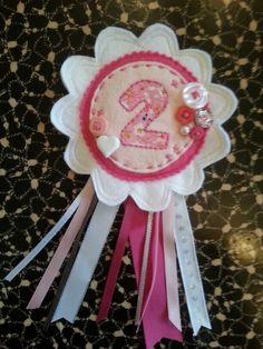 Gorgeous birthday rosette xxx