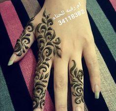@priti93 Modern Henna Designs, Floral Henna Designs, Arabic Henna Designs, Best Mehndi Designs, Beautiful Henna Designs, Beautiful Mehndi, Mehndi Designs For Hands, Henna Tattoo Designs, Henna Ink