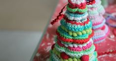 Would you like to make a little crochet tree ornament for Christmas?     Thanks for the interest in this little make, I am happy so ma...