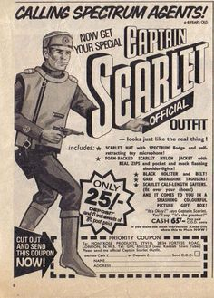 Captain Scarlet outfit