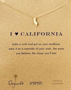dogeared california necklace