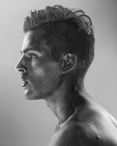 This is just beautiful! Nir Arieli's Infrared Photographs Of Male Dancers