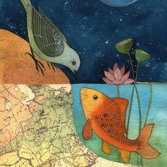 Have HS artists create artworks depicting opposites or contrasts