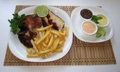 Pollo a la brasa recipe on lavidacomida.com, Peruvian / Latin American food blog.