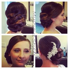#bride #bridalhair #bridalparty #curls #curlyhair #mystiquestyles #hairbymel #hairstyles #hairup