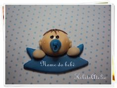 Kikits Atelie  de Festas: Lembrancinha Plaquinha Rubber Duck, Toys, Parties, Activity Toys, Toy, Games, Beanie Boos