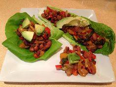 Caroline's Kitchen: Mexican Lettuce Wraps