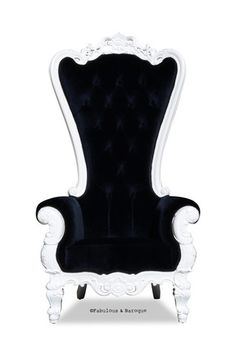 Absolom Roche Chair - White and Black