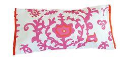 Design Chic - Ottoman in Pink Lumbar Pillow, $220.00 (http://www.shopdesignchic.com/ottoman-in-pink-lumbar-pillow/)