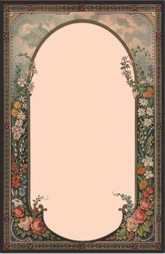 Vintage Roses Frame ~ Free Trinkets And Treasures Vintage Paper, Vintage Art, Images Victoriennes, Printable Frames, Vintage Borders, Rose Frame, Borders And Frames, Paper Frames, Vintage Labels