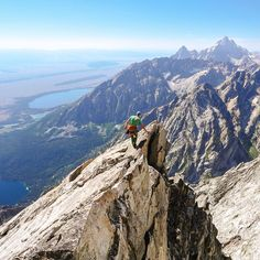 Here's a rad shot from high on Mt. Moran in @grandtetonnps a few months ago.  Also here is a few reminders for everyone. #1 Instameet on Nov, 14th (Sat) check out the post with text for details. #2 Enter to win a $100 gift card from @flow397 by following them and tagging you photos in US public lands with #Moonmountain397. Contest ends Sunday night. I'm having a lot of fun seeing everyone's photos that have been submitted.