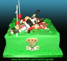 Nice Try! - Ben's Rugby cake