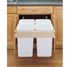 Pull Out Recycling and Trash Bin Online Showroom, Shop our selection of pull out trash and recycling cans.  Buy pull out recycling and trash cans with Free Shipping Offers and Save.