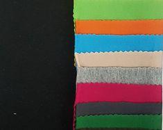 Medium Light Weight 12 oz Activewear Olive FabricLA Yoga Wear Pre Cut 2-Yards Turkish Cotton Jersey Spandex Knit Fabric