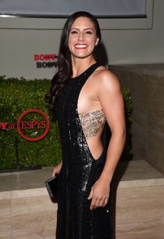Ali Krieger, Los Angeles, post-World Cup victory. (AliKrieger. com),