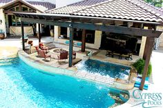 Cypress Custom Pool & Spa Photo Gallery | Houston, Katy, Woodlands