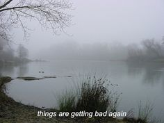 California Photo: Fog by American River Aesthetic Words, Aesthetic Pictures, Mood Quotes, Life Quotes, Qoutes, How I Feel, Deep Thoughts, It Hurts, River