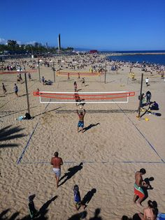 Playa de La Barceloneta. Barcelona, Catalonia