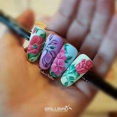 Russia, Nail Art, French, Nails, Painting, Beauty, Finger Nails, Beleza, French People