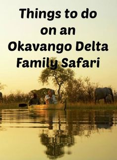Thanks to this impressive concentration of wildlife and a unique, water-based safari setting, the Okavango Delta plays the starring role in many of our Botswana family safari itineraries. If you're considering heading to Botswana with kids, don't miss these four fun things to do on an Okavango Delta Family Safari.