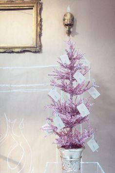#Purple #Christmas #tree