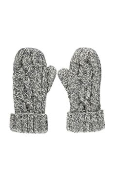 Cable Knit Mittens   Forever 21 - 2000157497