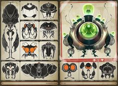 The Monster Volume by CreatureBox , via Behance