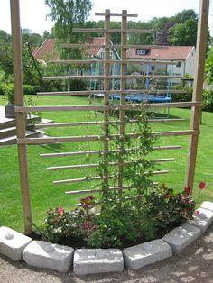 Garden Trellis, Garden Pool, Beautiful Gardens, Fence, Outdoor Living, Home And Garden, Backyard, Outdoor Structures, Gardening
