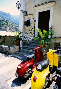 """Positano street"" italy by zobb..I would love to discover the area in this fashion....."