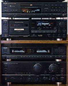 Audio Vintage - Vintage Cassette Deck and Boombox - Nakamichi and other: Repair - Exploitation - Adjusting - Photo Boombox, Hifi Audio, Car Audio, Yamaha Hi Fi, Mc Intosh, Mini System, Cd Player, Tape Recorder, Audio Equipment
