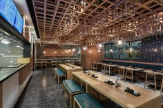 Dacong's Noodle House by The Swimming Pool Studio, Shanghai – China » Retail Design Blog