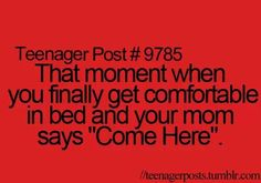I hate this moment