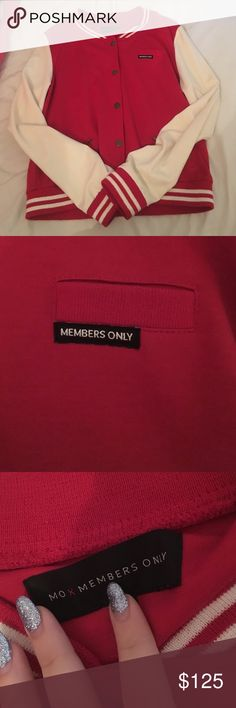 Members only varsity vintage jacket rare this has been my prized