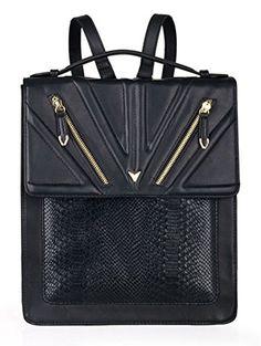 2015 Fashion Retro Snakeskin Pattern Black Square Backpack College Bags Handbags The City To The Tide http://www.amazon.com/dp/B00XOXKXBG/ref=cm_sw_r_pi_dp_8fzMvb1G654X7