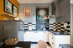Részletgazdag, színes és stílusos – egy 32 négyzetméteres lakás átalakítás után – Életszépítők