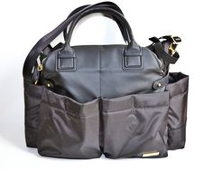 The perfect diaper bag/satchel. And trust me, I've tried out several and this one is awesome — Skip Hop Chelsea!