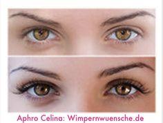 Aphro Celina Eyelash Wimpernserum. Natürlich schöne Wimpern mit dem Wimpernwachstumsserum. Längere, vollere und dickere Wimpern in 4-6 Wochen. Mehr Infos: www.wimpernwuensche.de